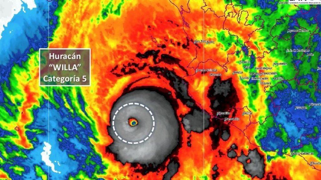 huracan willa, El financiero